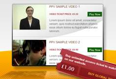 Pay-Per-View Video Software
